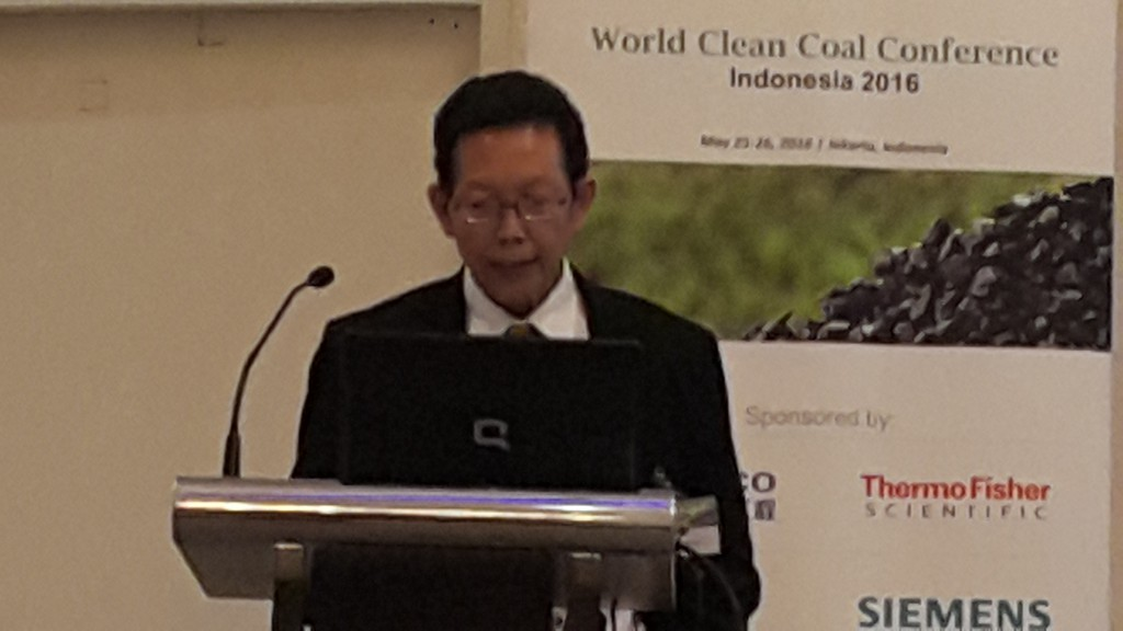 Dr. Ir. Harun Al Rosyid as Speaker at world clean coal conference