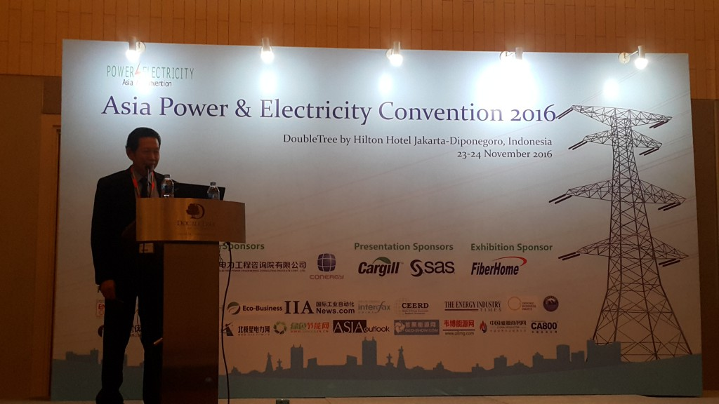 Dr. Ir. Harun Al Rosyid as Speaker at Asia Power & Electricity
